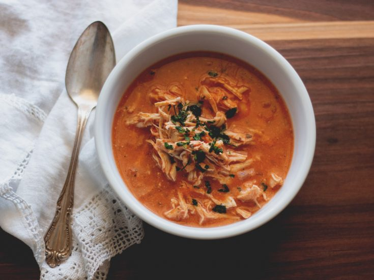 Creamy Tomato and Chicken Soup