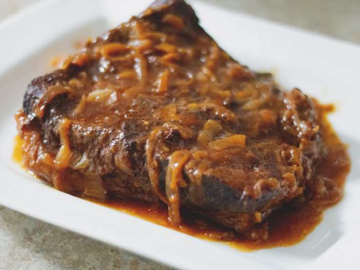 Beef Brisket with Caramelized Onions