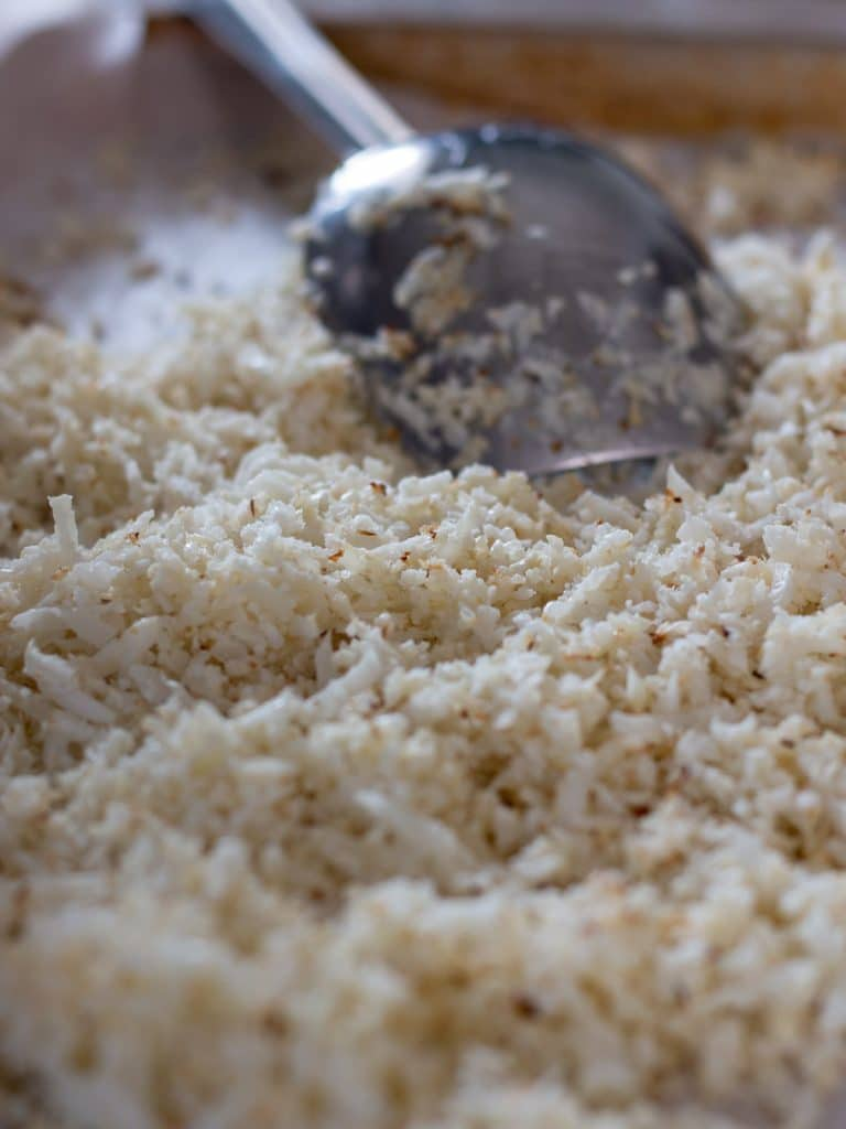 How to Make Homemade Cauliflower Rice - Cauliflower Rice is a great, low-carb alternative to rice in your meals.
