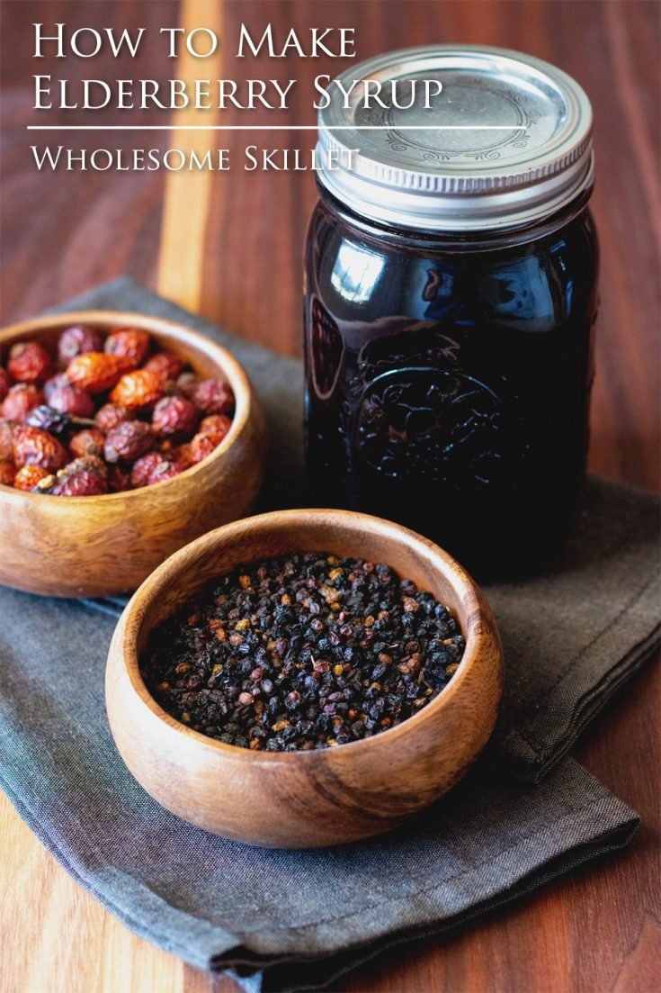 Making elderberry syrup is a simple thing to do, and it is packed full of vitamins and antioxidants.