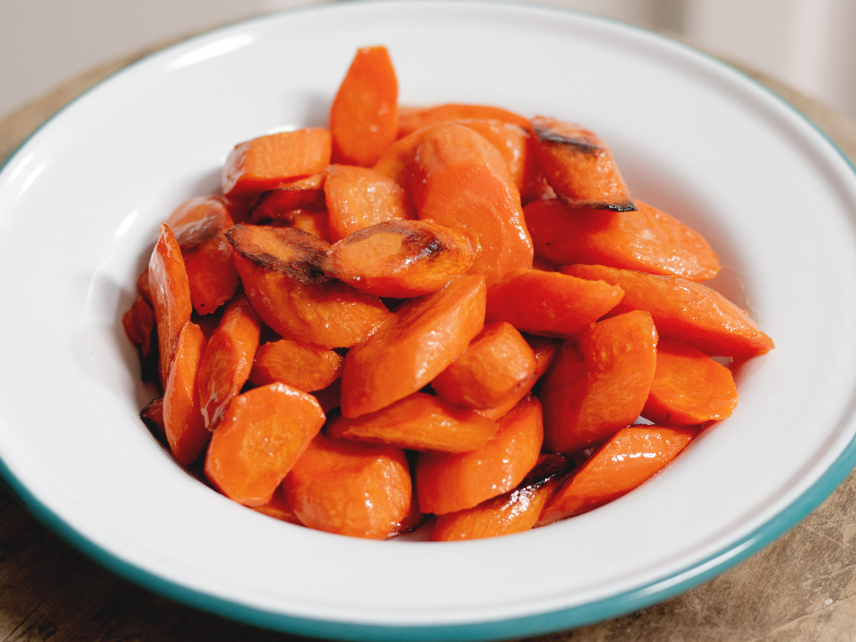 Honey Roasted Carrots - a Healthy and Easy-to-Make Side Dish