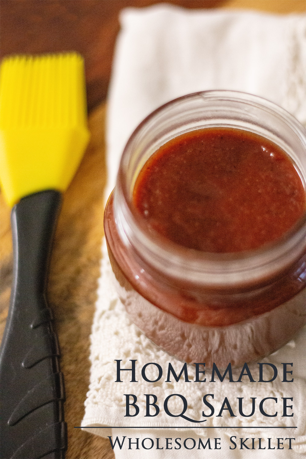 Homemade BBQ Sauce - An easy recipe to whip up, and it's healthier than most store bought versions.