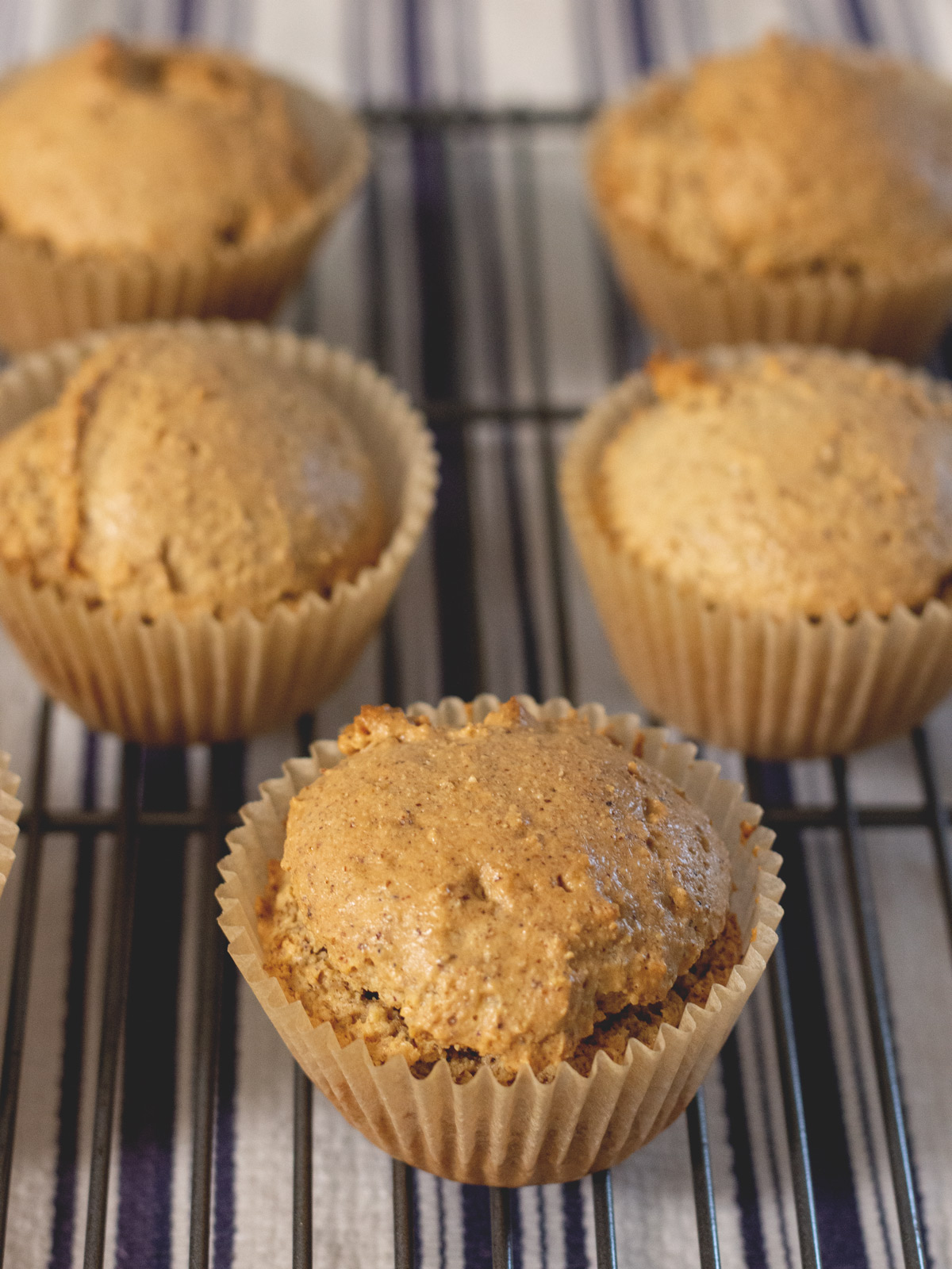 Almond Butter Muffins   Wholesome Skillet