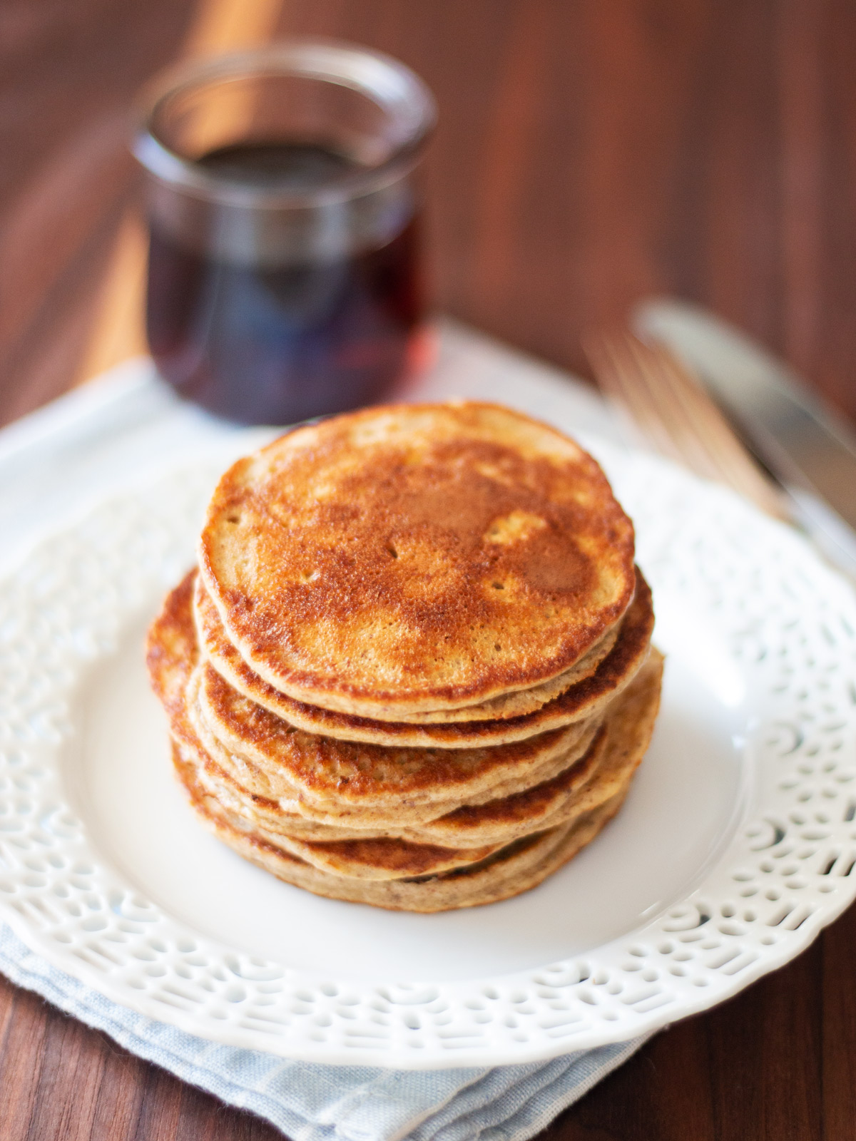 Easy Apple Banana Pancakes - These tasty pancakes are a great way to start any morning.