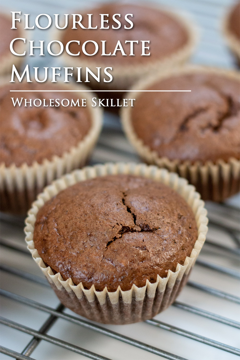 These Chocolate Muffins are moist and chocolaty. They make an excellent alternative to traditional muffins that used refined sugars or flours. These paleo muffins don't even have flour at all!