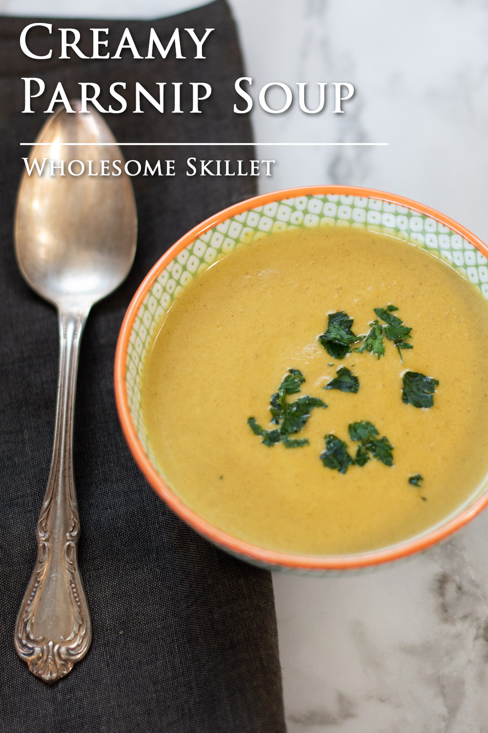 Creamy Parsnip Soup is a wonderful way to enjoy this much-overlooked root vegetable.