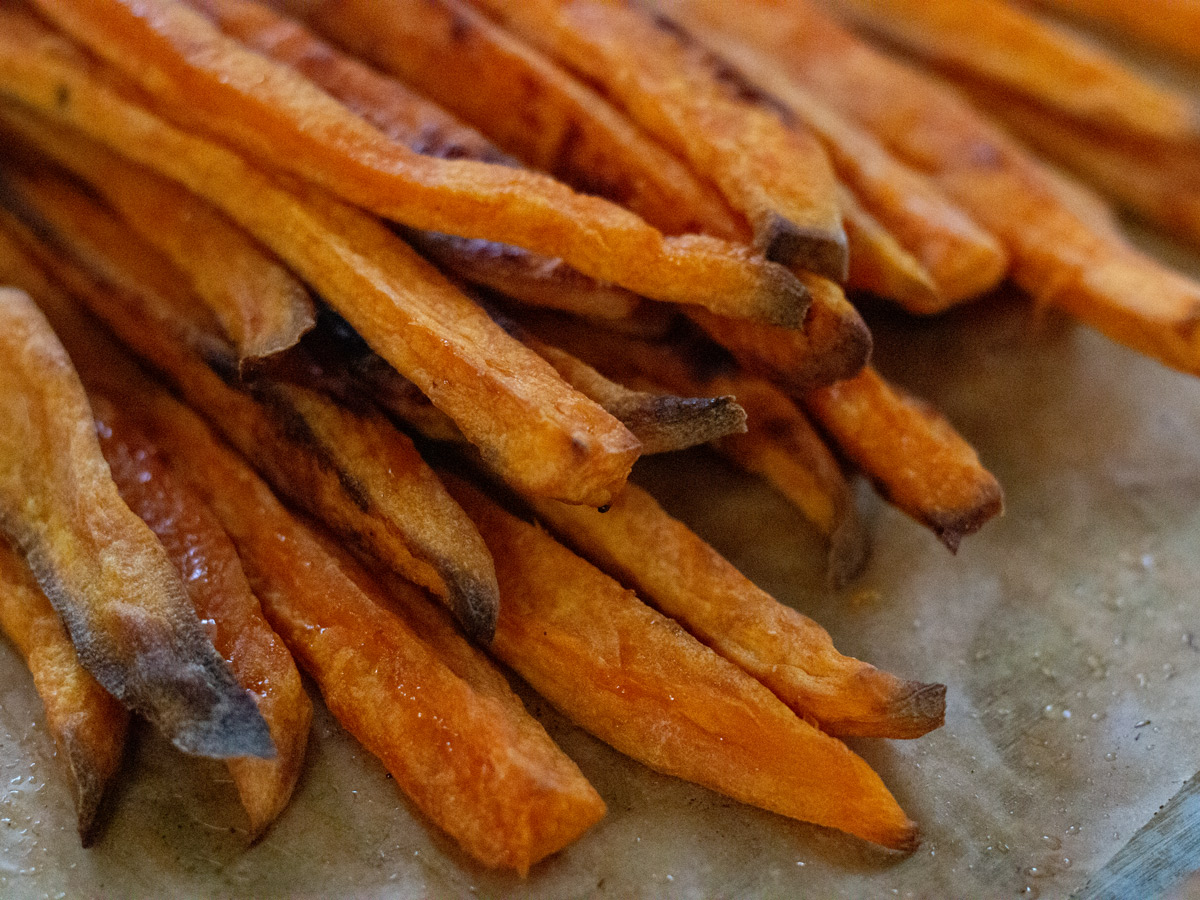 How to Make Homemade Sweet Potato Fries from Wholesome Skillet