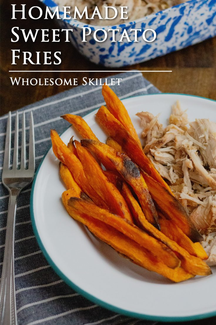 Sweet Potato Fries are easy to make, and a side that the whole family loves.
