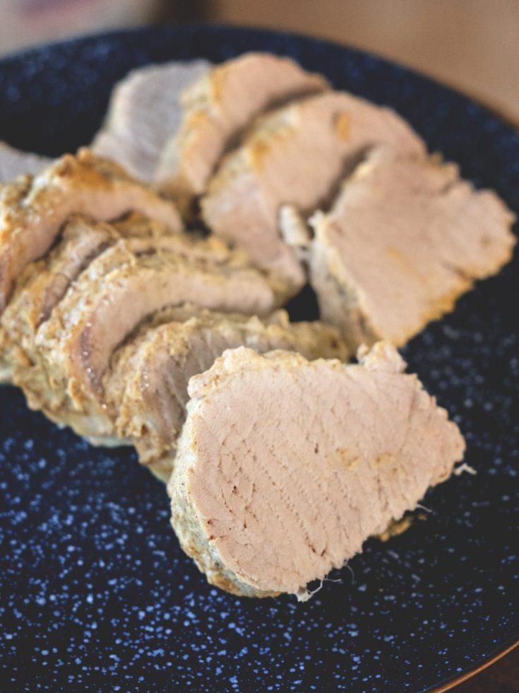 Easy Instant Pot Honey Mustard Pork Tenderloin | Wholesome Skillet