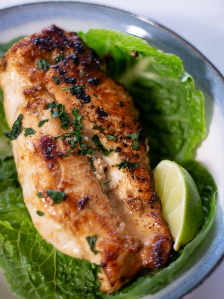 Easy Lime Skillet Chicken