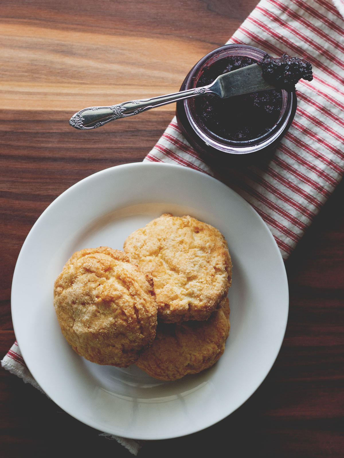 Small Batch of Blackberry Jam | Wholesome Skillet