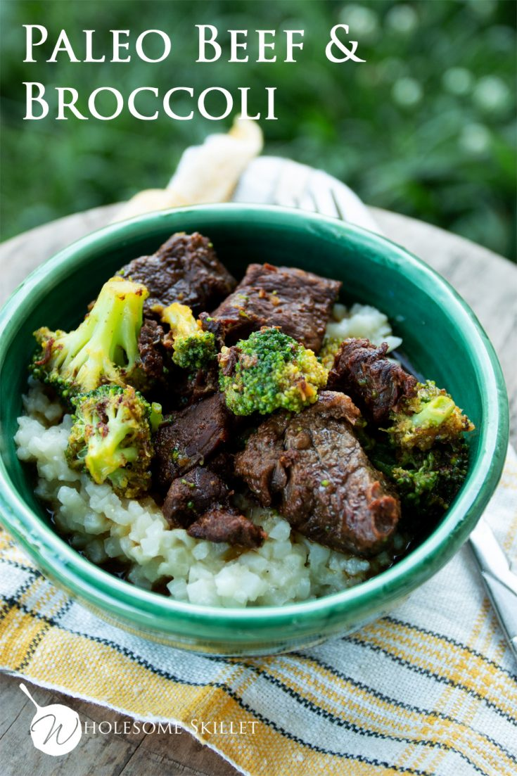 This delicious beef and broccoli recipe is quick and easy to make, and paleo-friendly.