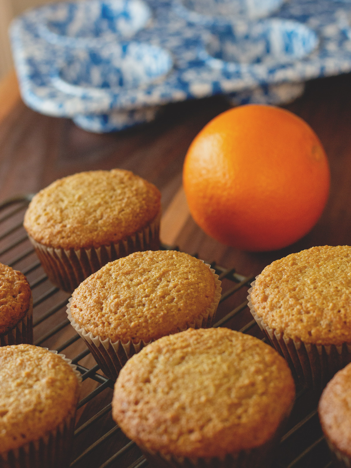 These Orange Muffins are a delicious breakfast muffins, made from scratch with orange juice and orange zest.